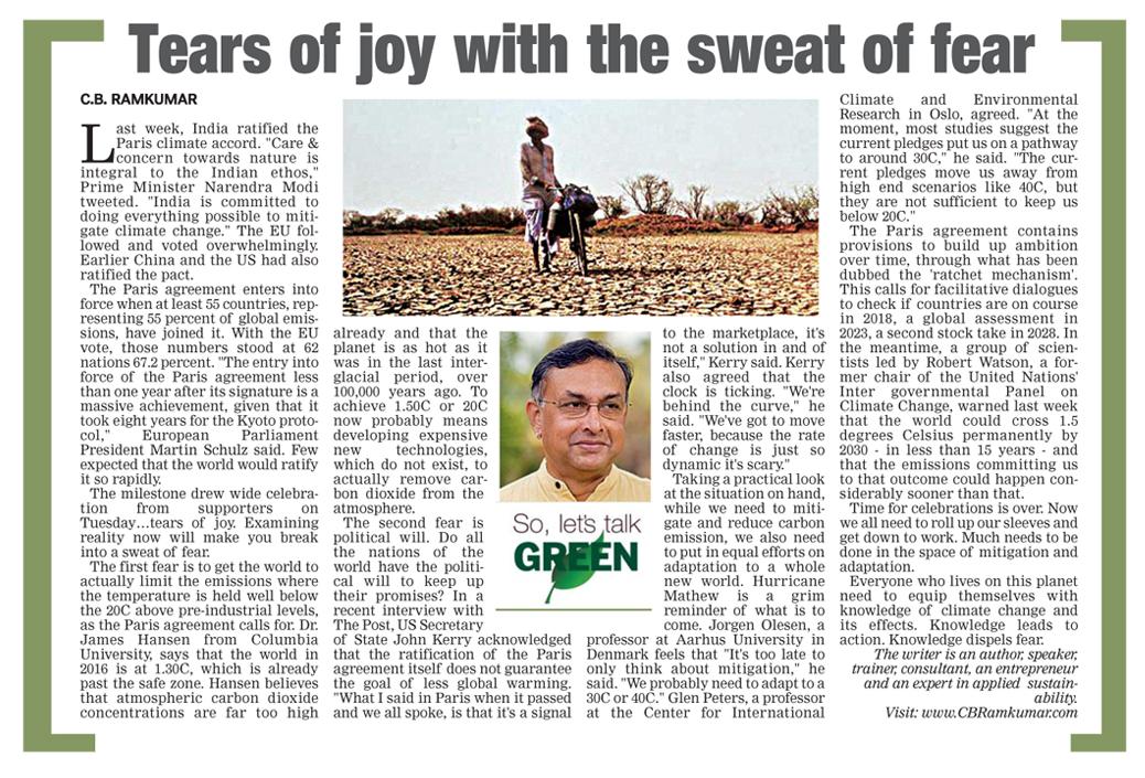 Deccan Chronicle 8 Sept 2016