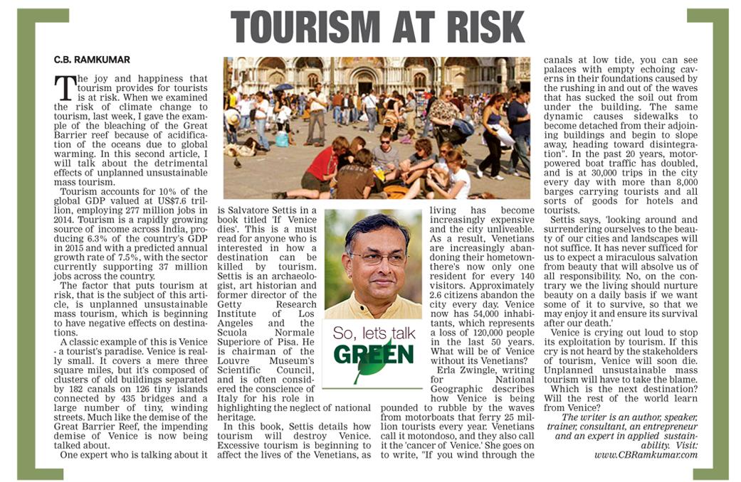 Deccan Chronicle 6 Nov 2016