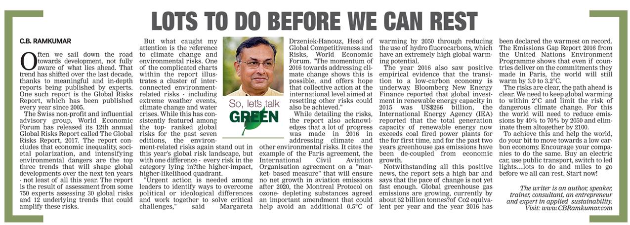 Deccan Chronicle 21 Jan 2017