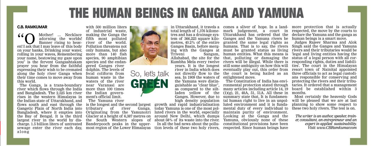 Deccan Chronicle 1 April 2017