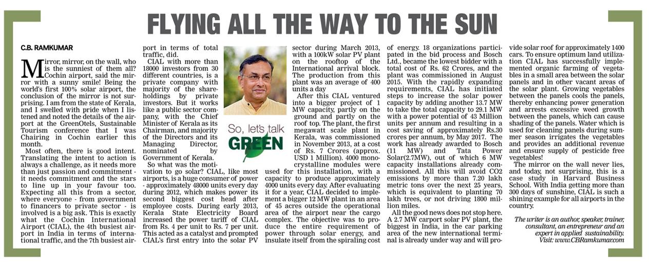 Deccan Chronicle 15 April 2017