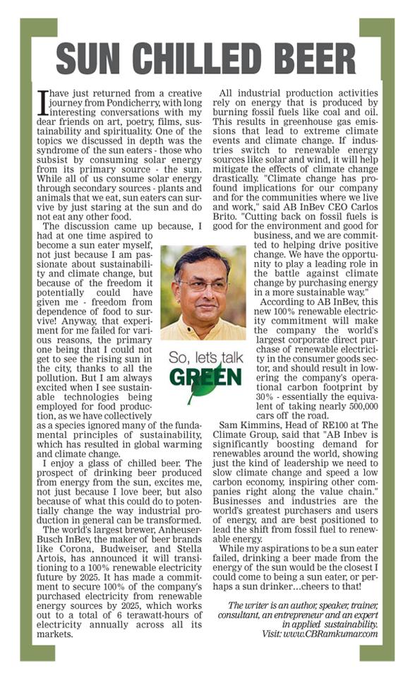 Deccan Chronicle 30 April 2017