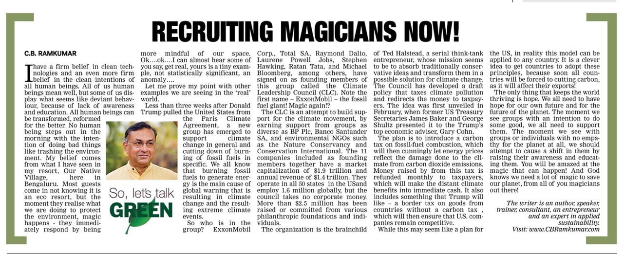 Deccan Chronicle 24 June 2017
