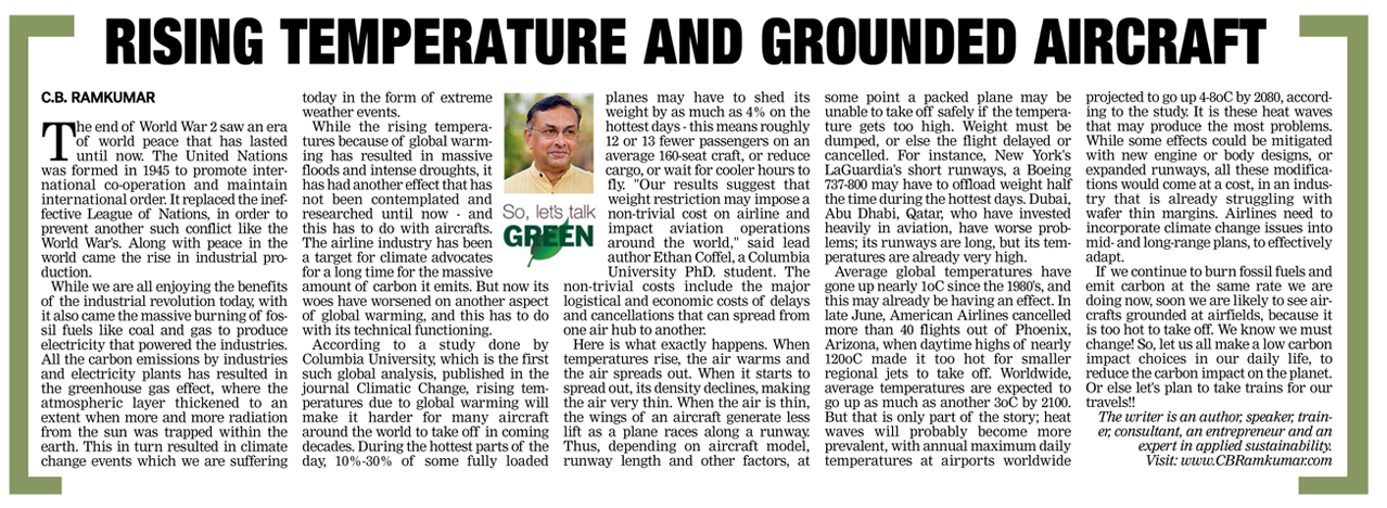 Deccan Chronicle 12 August 2017