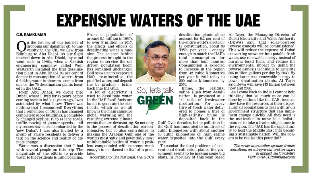 Deccan Chronicle 7 Oct 2017