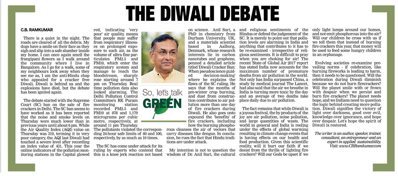 Deccan Chronicle 21 Oct 2017