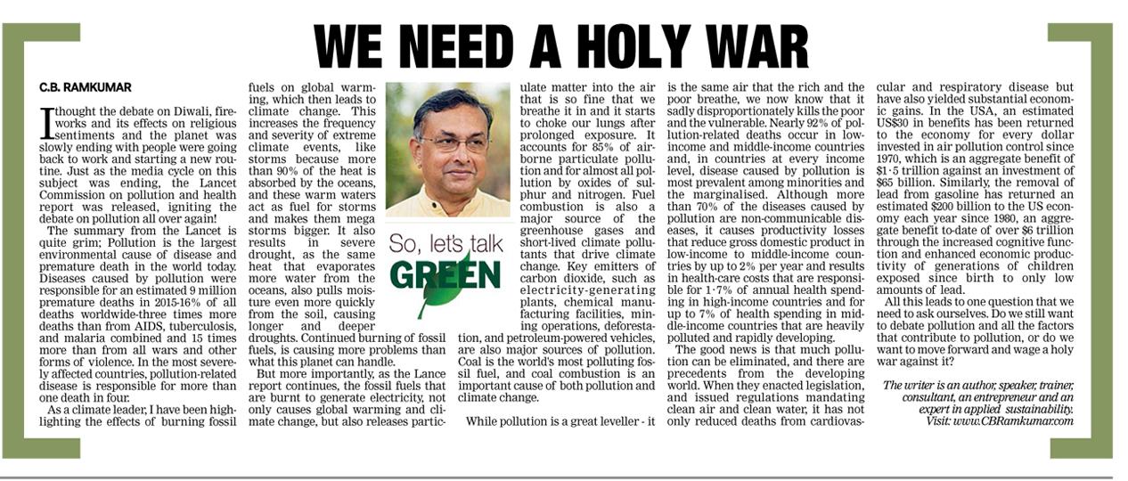 Deccan Chronicle 28 Oct 2017