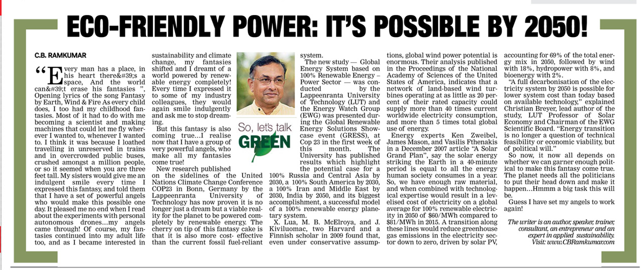 Deccan Chronicle 25 Nov 2017