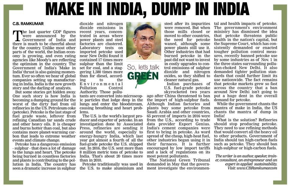 Deccan Chronicle 10 Dec 2017