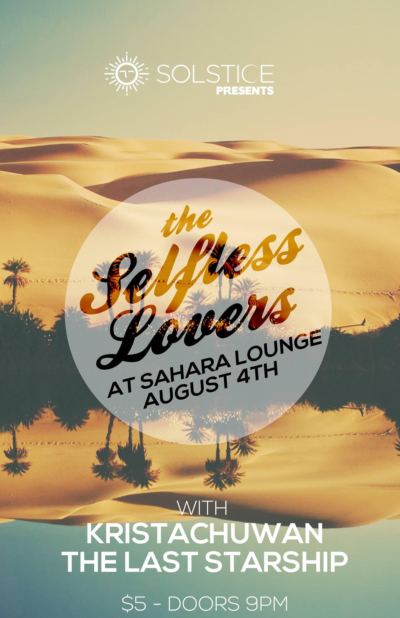 Sahara Lounge (8/4/16)