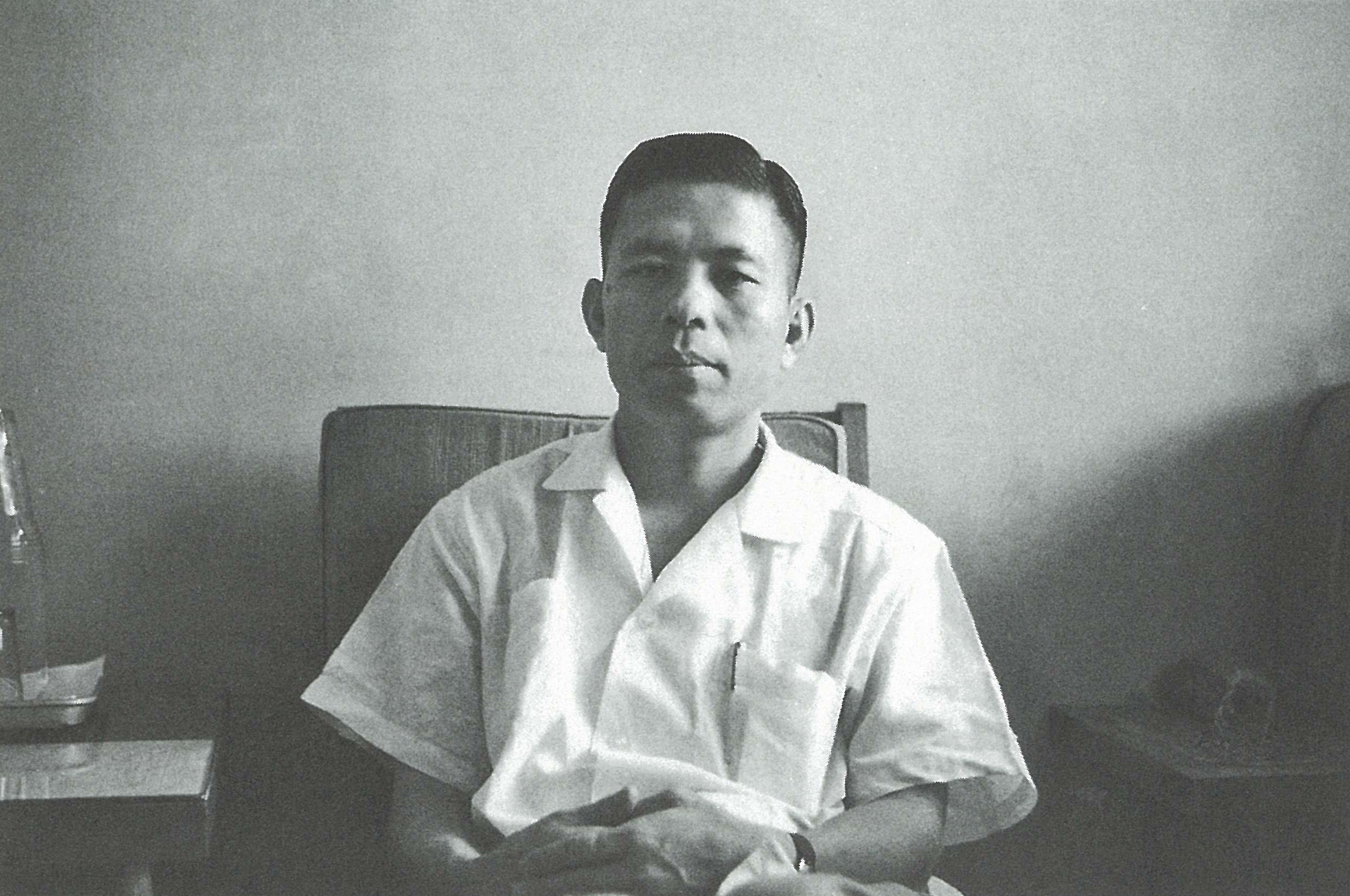 東方廣告公司創辦人溫春雄   Founder of Eastern Advertising, Wen, Chun-Hsiung
