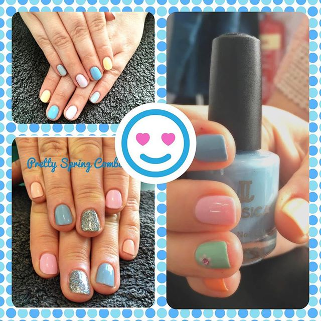 PASTEL POWER rules the spring season @shinemec #naturalnailcare #shine #jessica #gerrardinternational #pastels #spring #easternails #easter