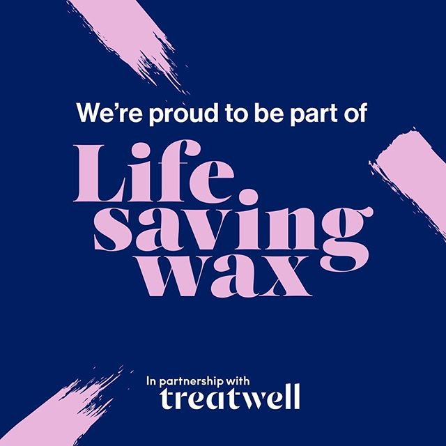 We're partnering with Treatwell who have teamed up with Public Health England to raise awareness of Cervical screening. Screenings are at a 20 year LOW yet women are regularly attending intimate wax appointments! We're starting the conversation to help save lives with #lifesavingwax - join in and receive 20% off bikini wax treatments this month!! #waxing #cervicalscreening #cervicalcancerawareness #cervicalscreeningsaveslives #shine #selfcare #youmatter #lifesavingwax