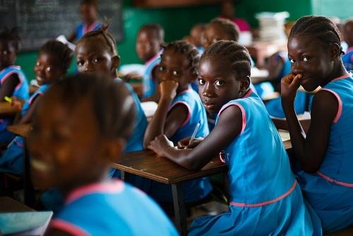 Schoolbanken Liberia