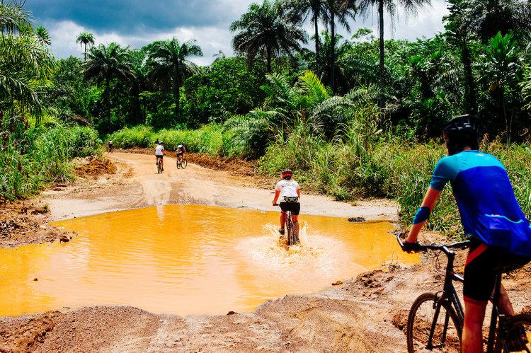 Avontuur in West Afrika
