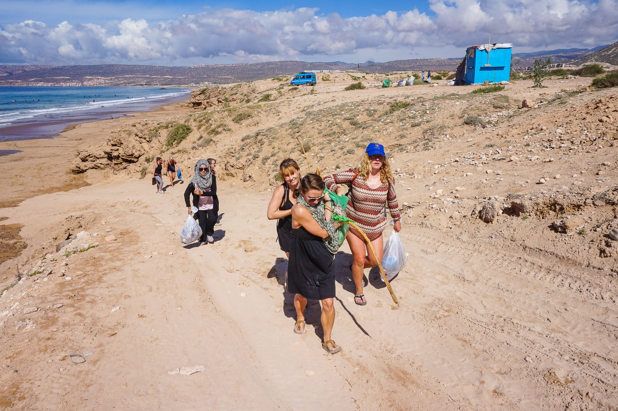 Morocco Beach Cleans The Lunar Surf House-50.jpg