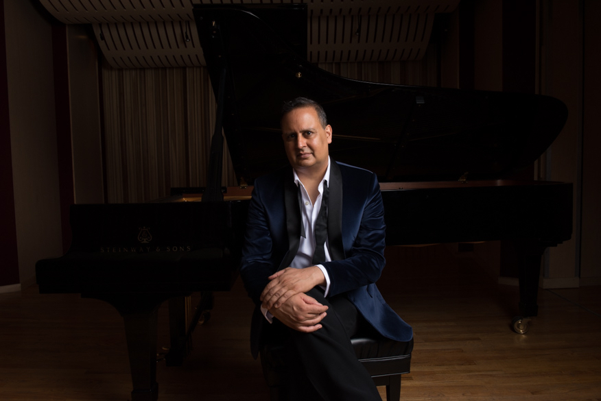American pianist, Raj Bhimani. Photo by Jiyang Chen