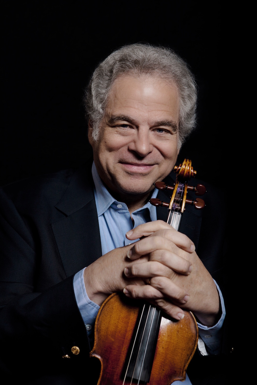 The world-renowned violinist, Itzhak Perlman.