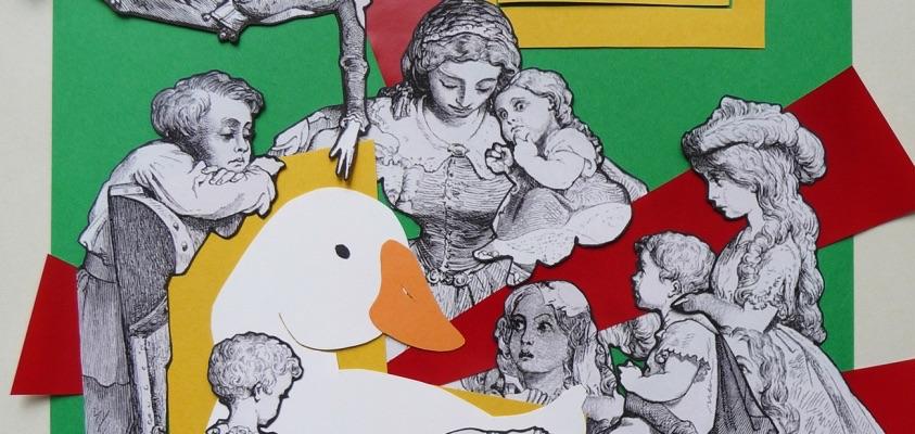 """Drawing for """"A Minha Mãe Gansa"""" by André Godinho"""