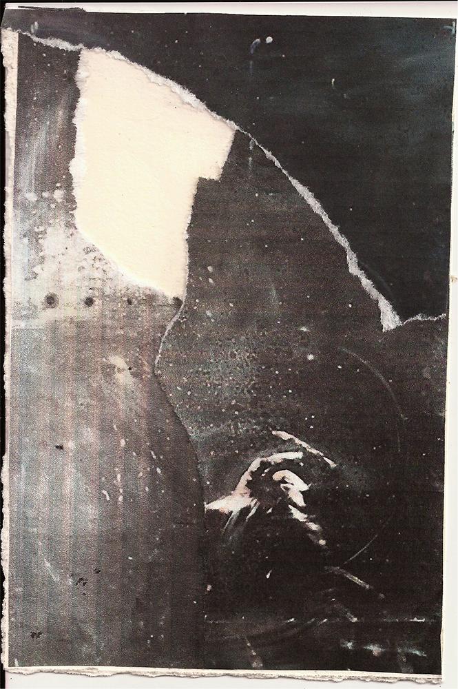 """Meditation: XI"" Found Images 4"" x 6"" 2013"