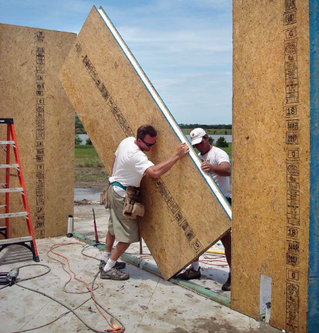 """SIP"" Structural Insulated Panels"