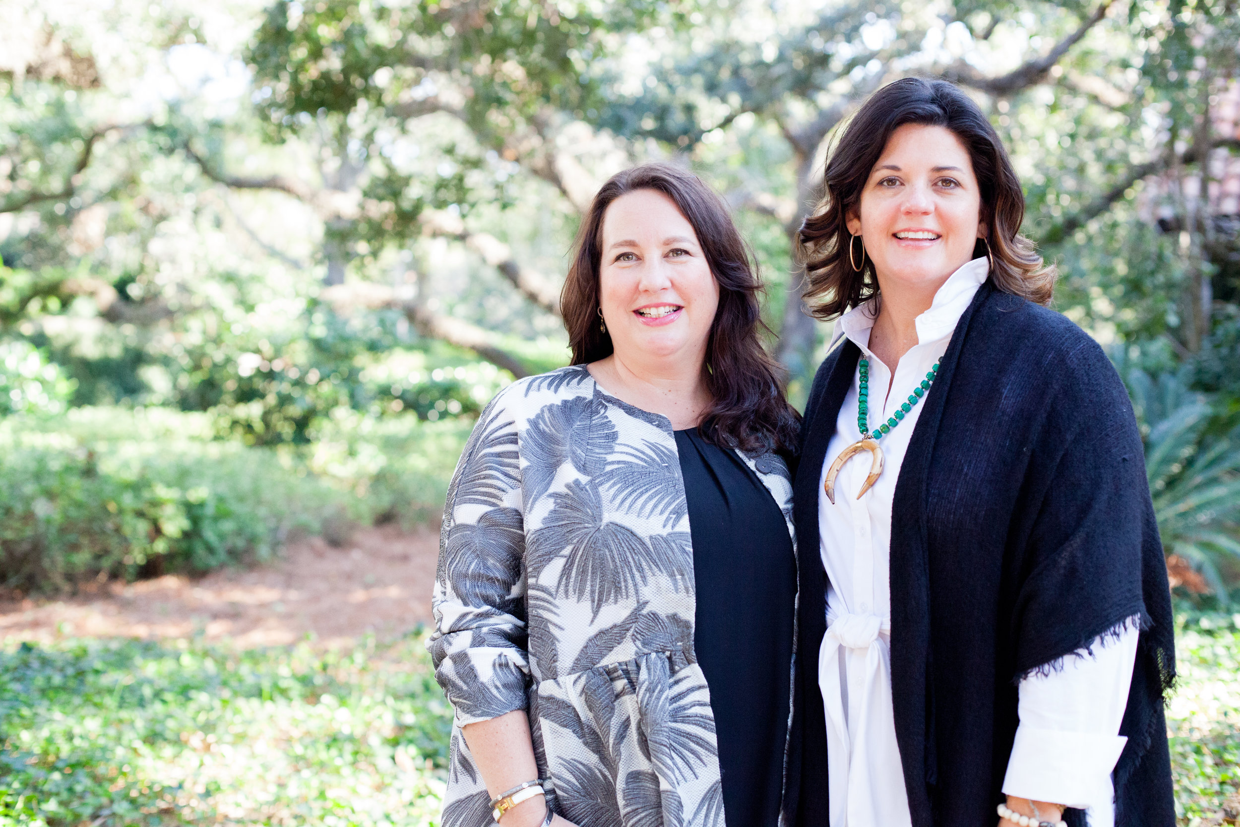 Cheri Leavy & Whitney Long, co-founders of The Southern Coterie