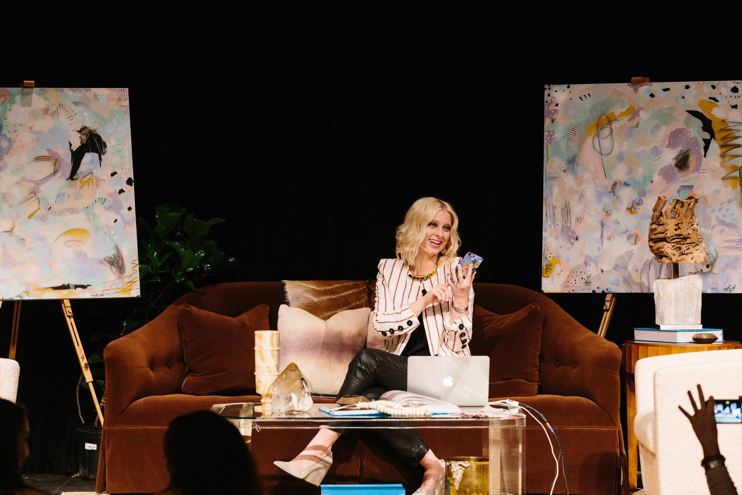 Mandy Kellog Rye speaks at a previous Summit // photo c/o Kathryn McCrary
