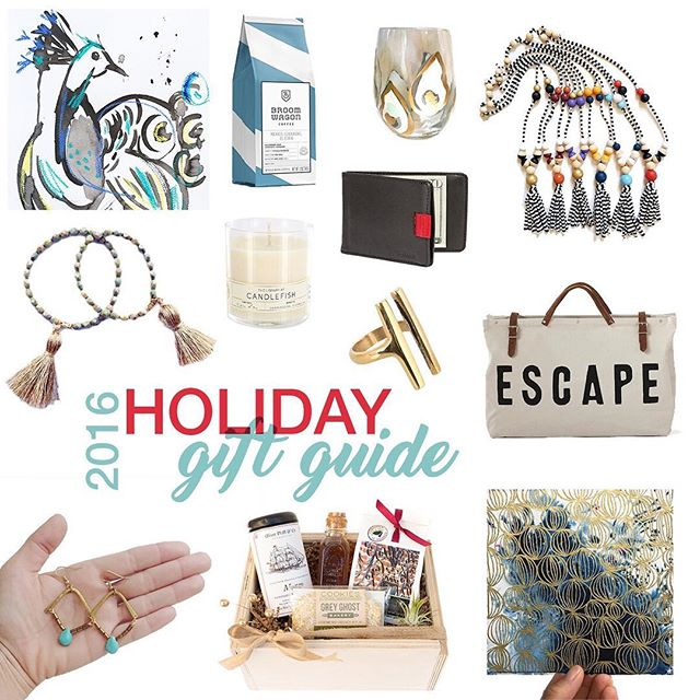 2016 Southern Holiday Gift Guide from  Modern South Studio