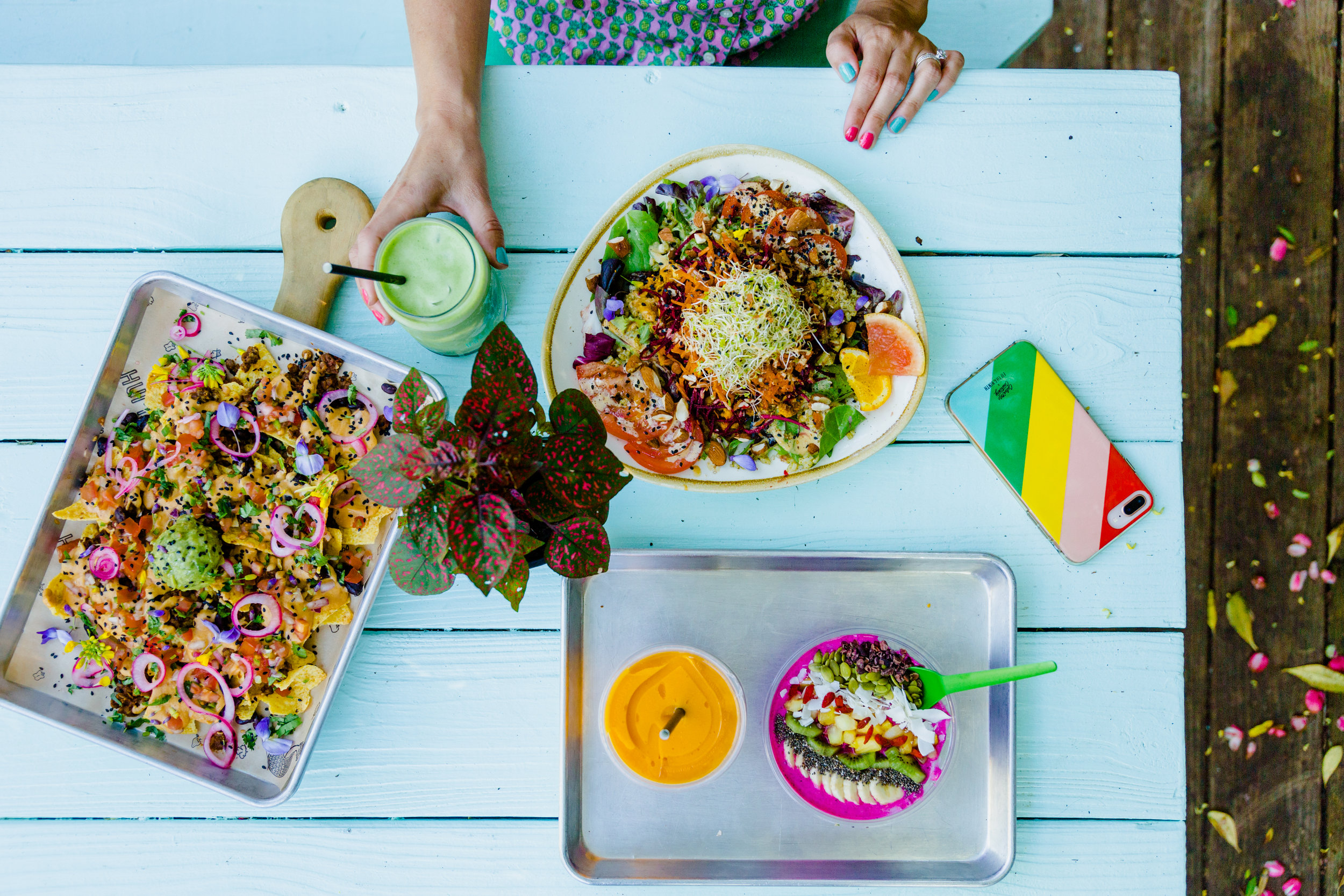 Huriyali vegan and vegetarian food in Charleston SC