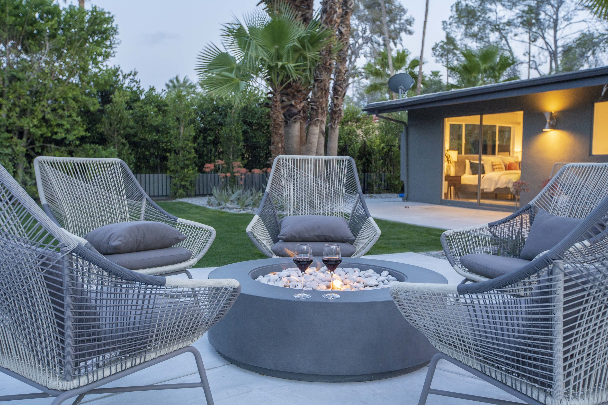 charleston weekender game night at 2019 west elm house in palm springs