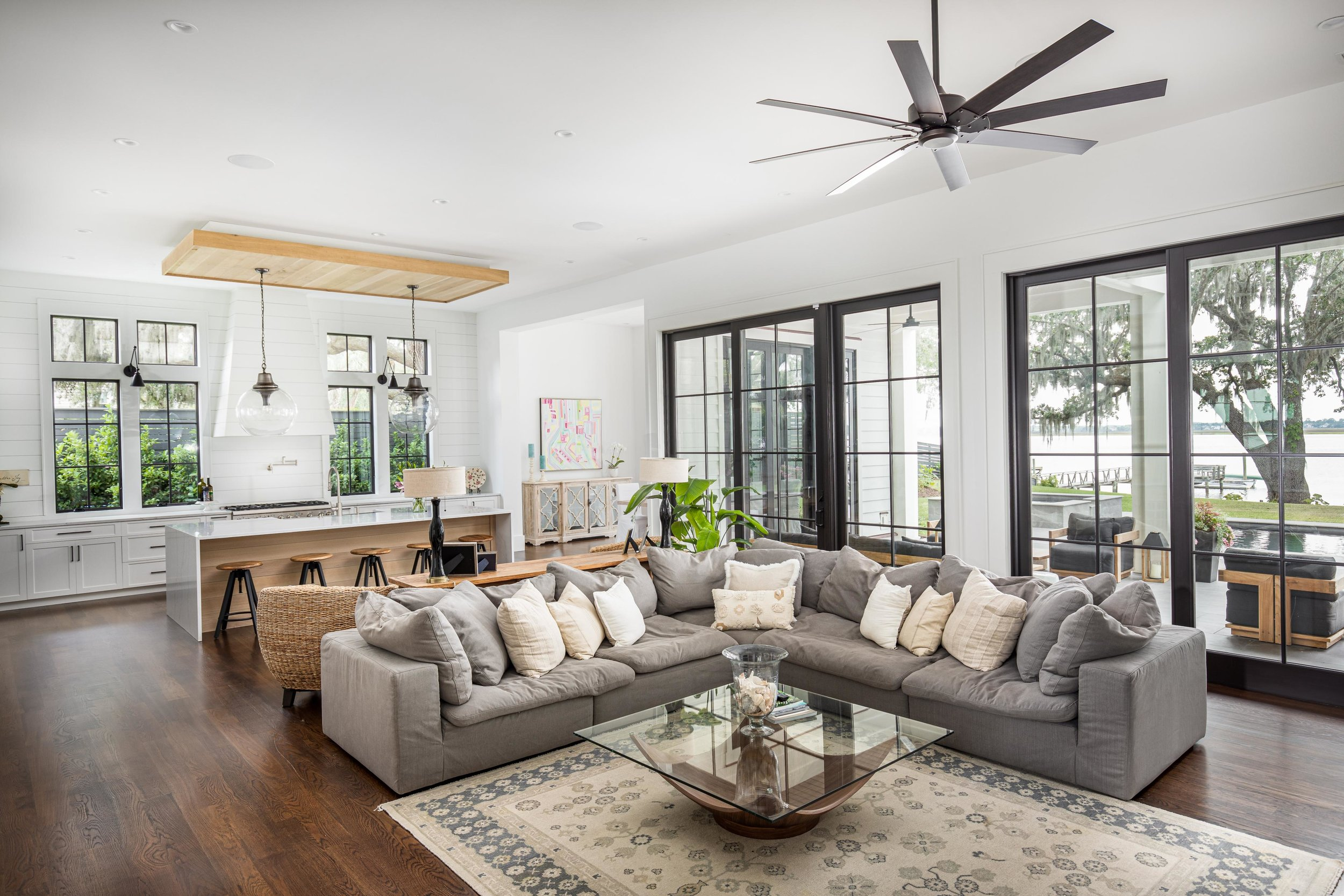 Riverland Terrace Charleston Home Tour via Charleston Weekender