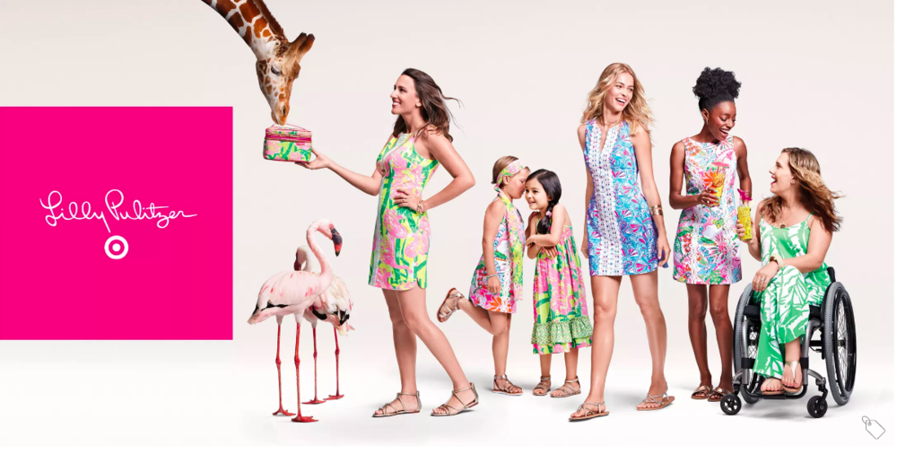 Lilly Pulitzer 20 year anniversary Target collection