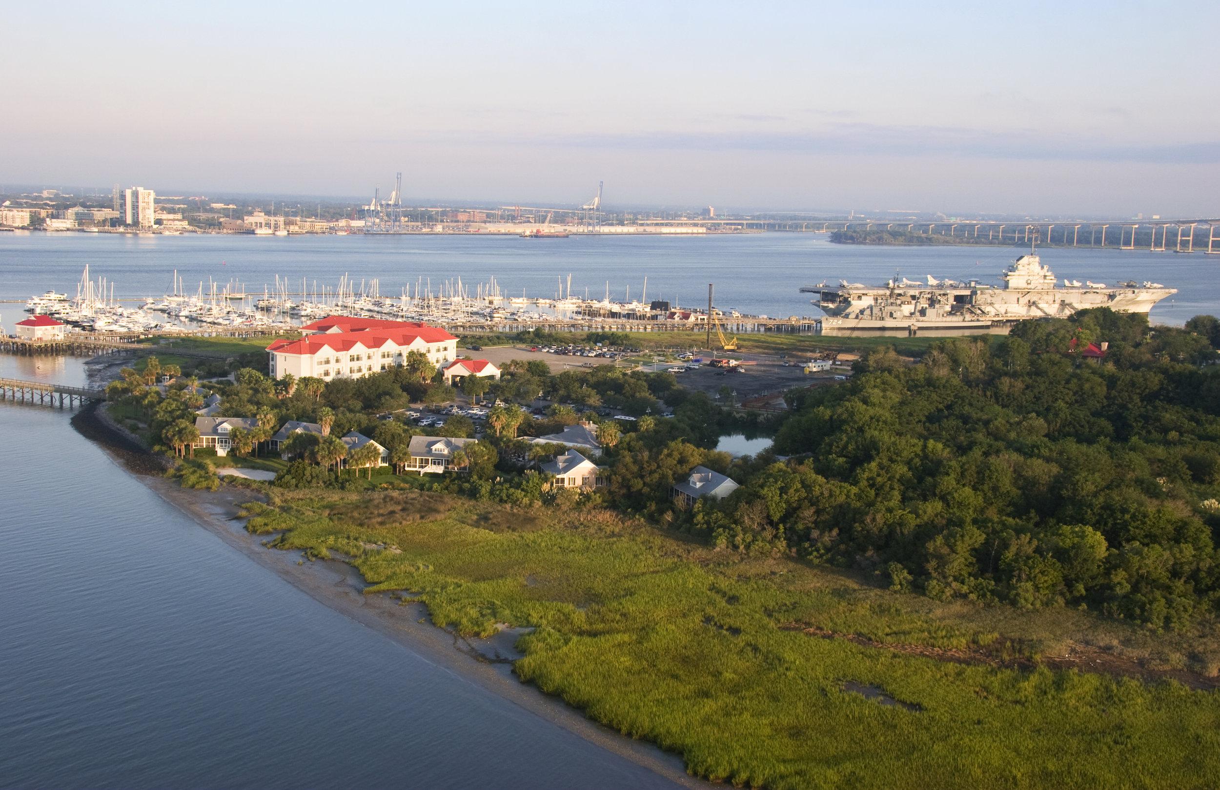 The Cottages on Charleston Harbor Charleston Weekender