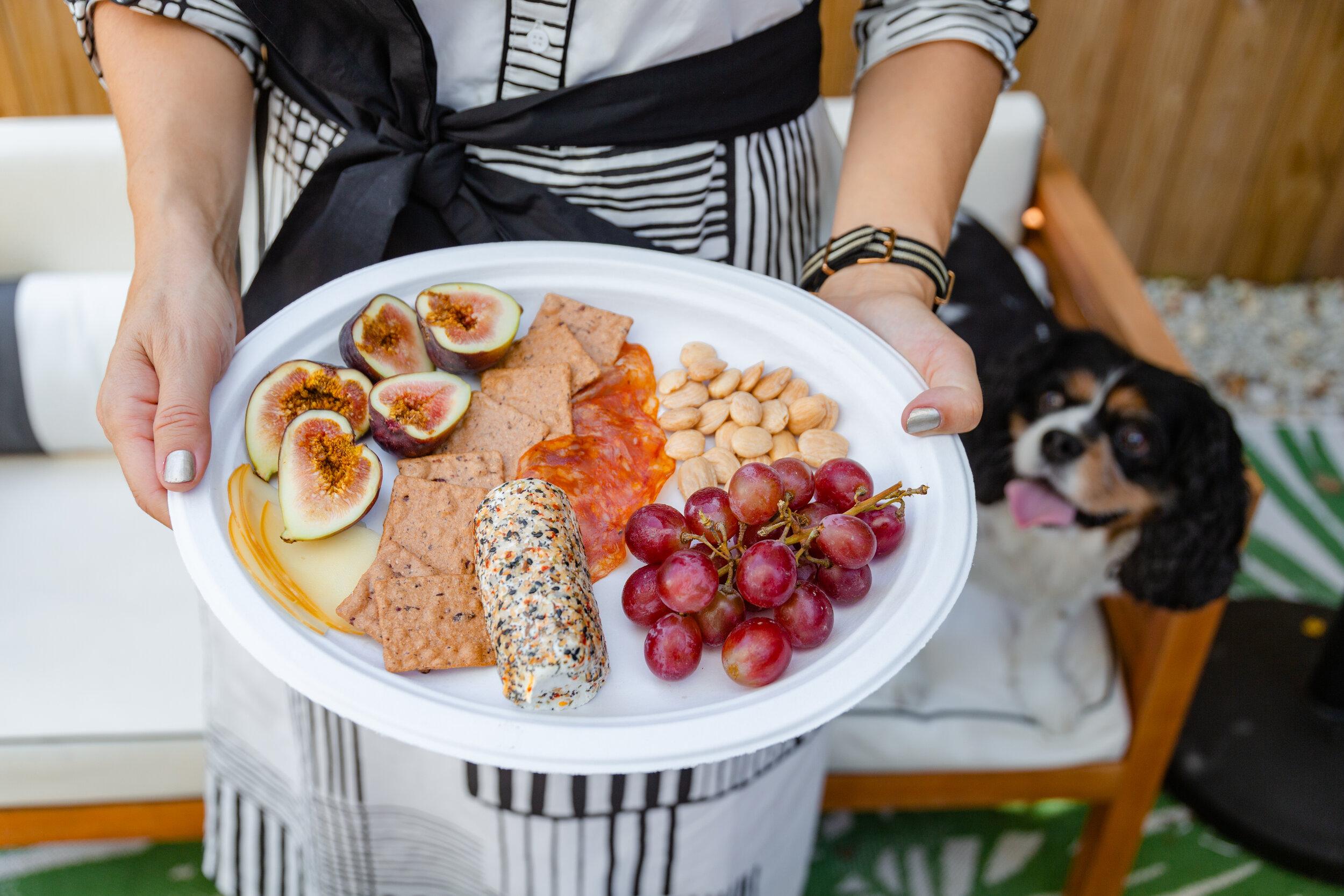 charcuterie plate DIY from Charleston blogger Charleston Weekender