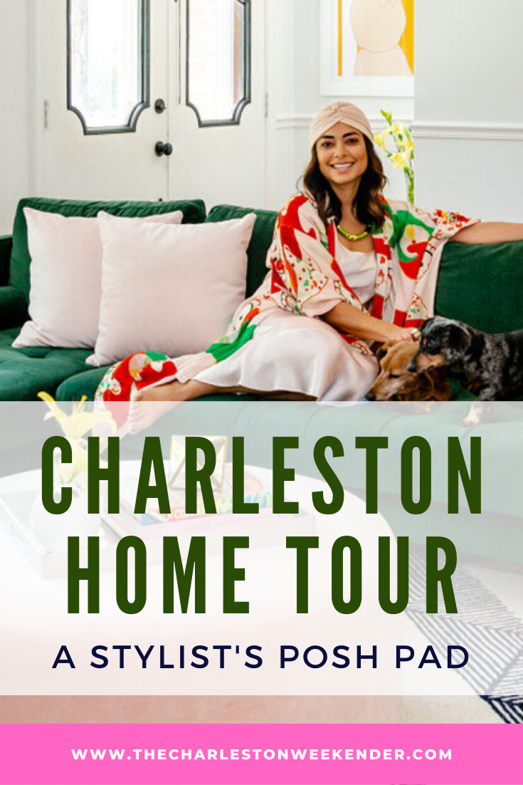 Charleston Home Tour: Inside Andrea Serrano's Posh Pad