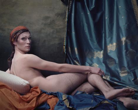 Genevieve Blais. After Ingres. C-Print. Ed. of 5