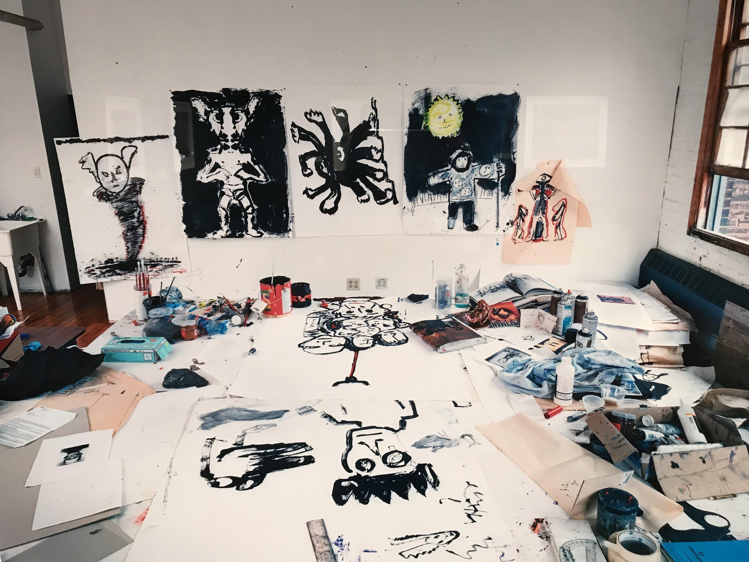 John Scott's Studio