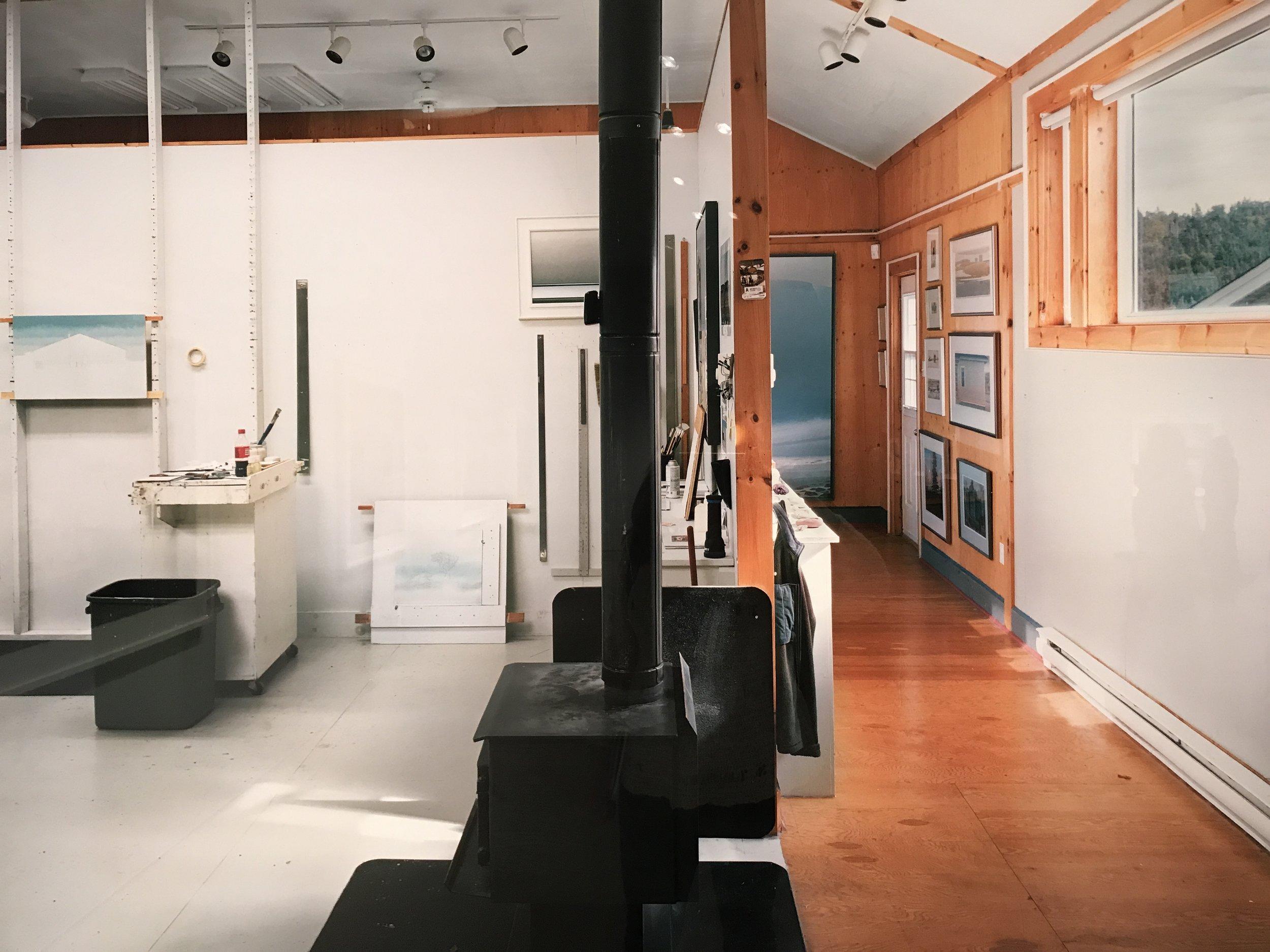 Christopher Pratt's Studio