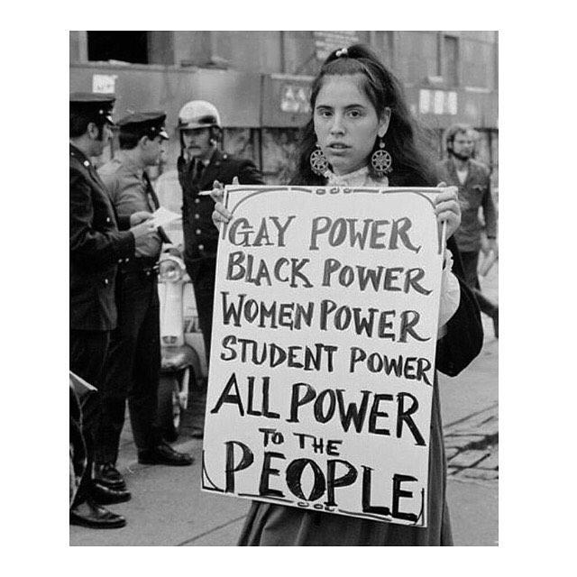 POWER TO THE PEOPLE!✊✊✊ #ATMinspiration #women #ATMpod #askthemmore #podcast #freedom #freedomforall #love #unite  Photo via: @sadiecalvano