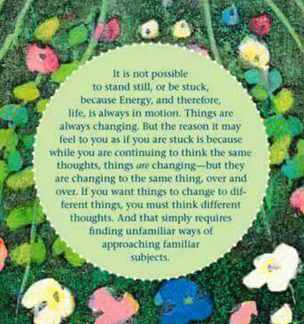 The image that inspired this blog post. It's from the Abraham-Hicks Perpetual Flip Calendar,  available here . With a beautiful image and quote for every day of the year. However, not all of the quotes will make sense, if you're not familiar with Esther Hicks' concepts.