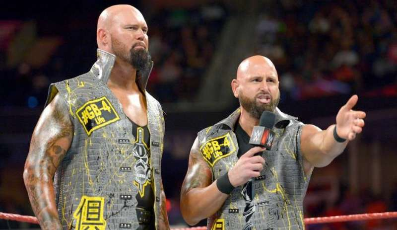 Doc Gallows Machine Gun KKKKarl Anderson - Picture Courtesy of Sportskeeda