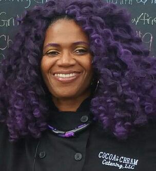 Ethel Williams of Cocoa & Cream Catering (photo courtesy of Ethel Williams)