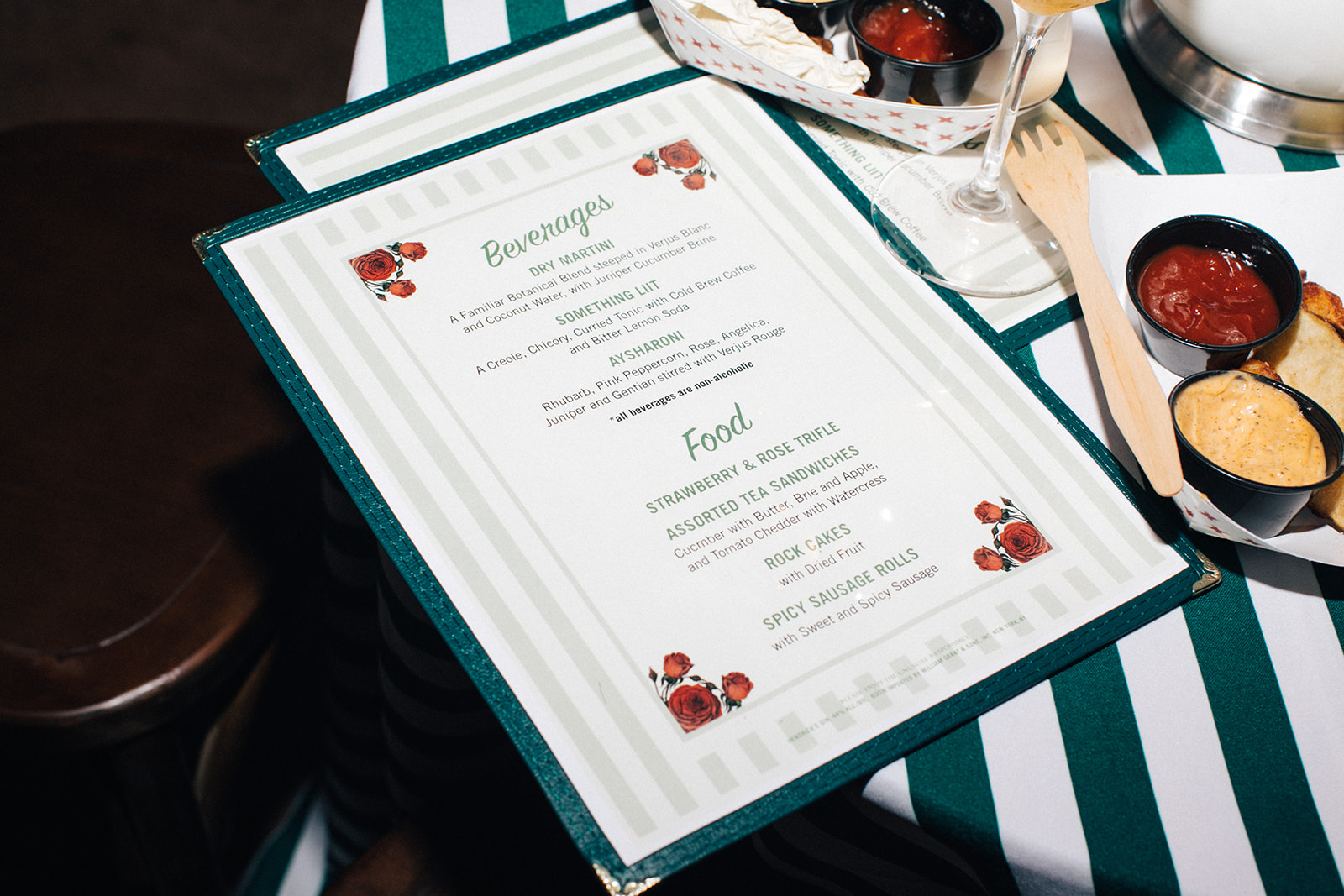 Tales of the Cocktail 2018 Menu.Photo by  Ollie Alexander.