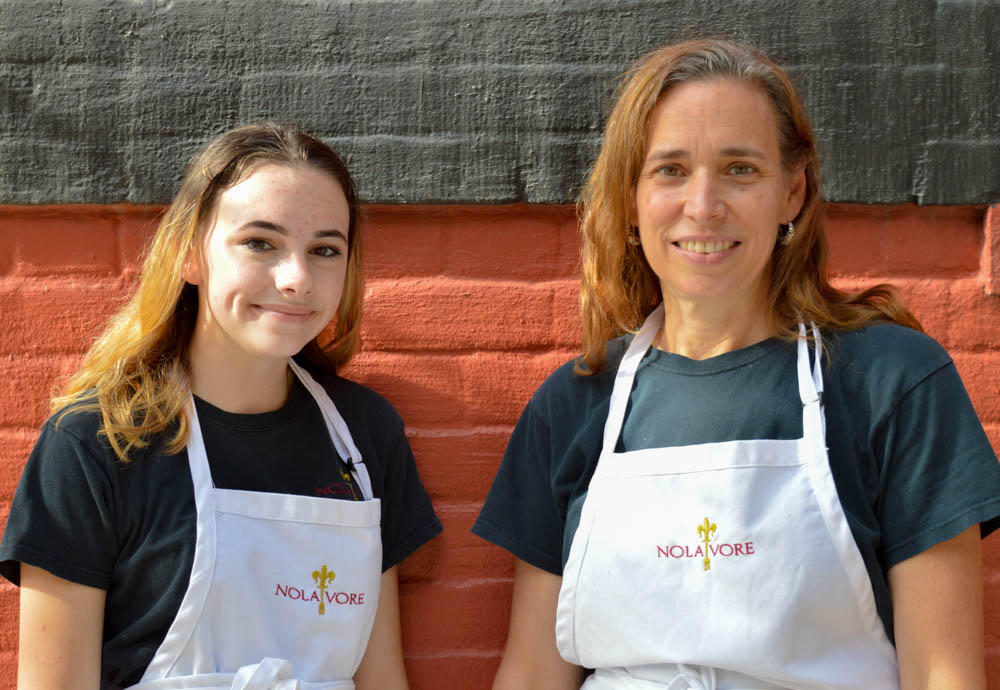 Chef Anne Lloyd and her daughter