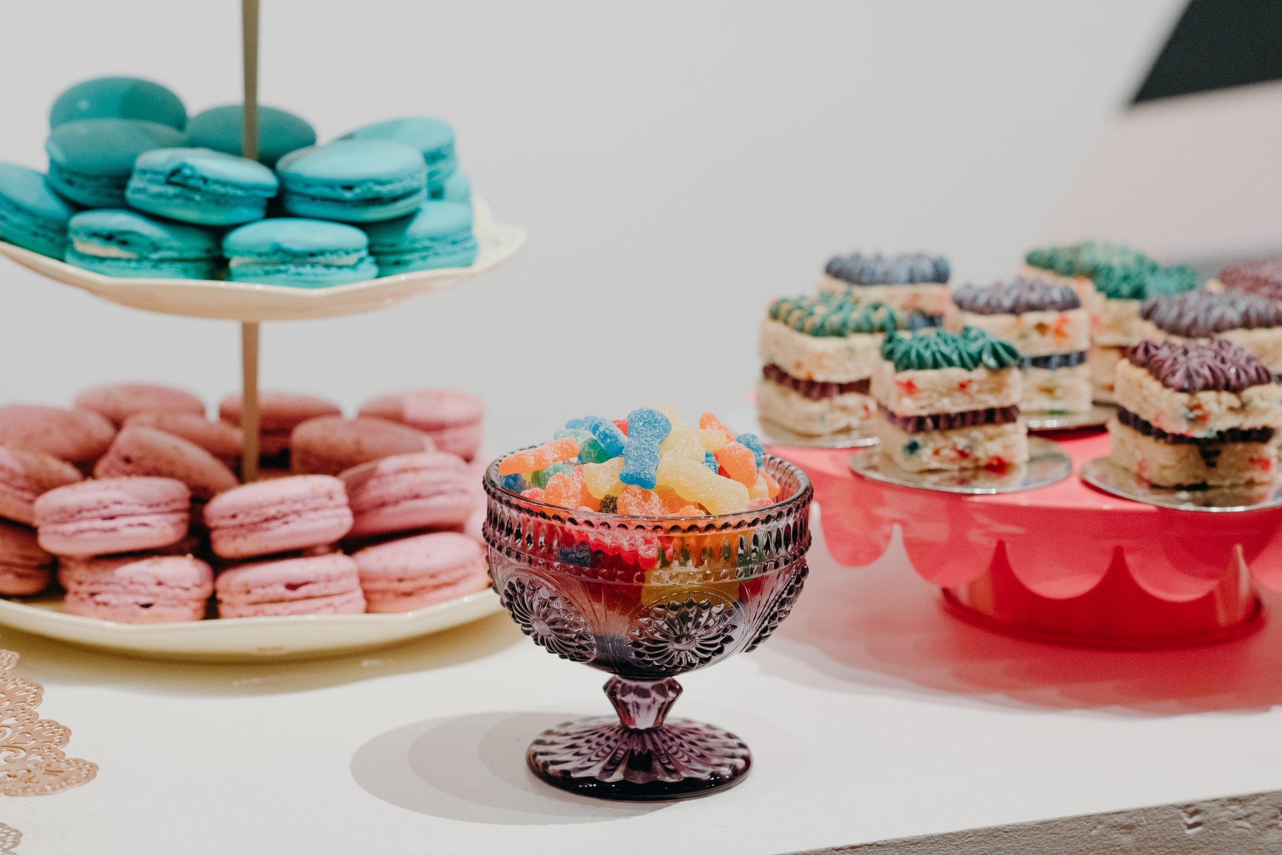 Darren Criss and Mia Swier Wedding Food with Kristin Banta