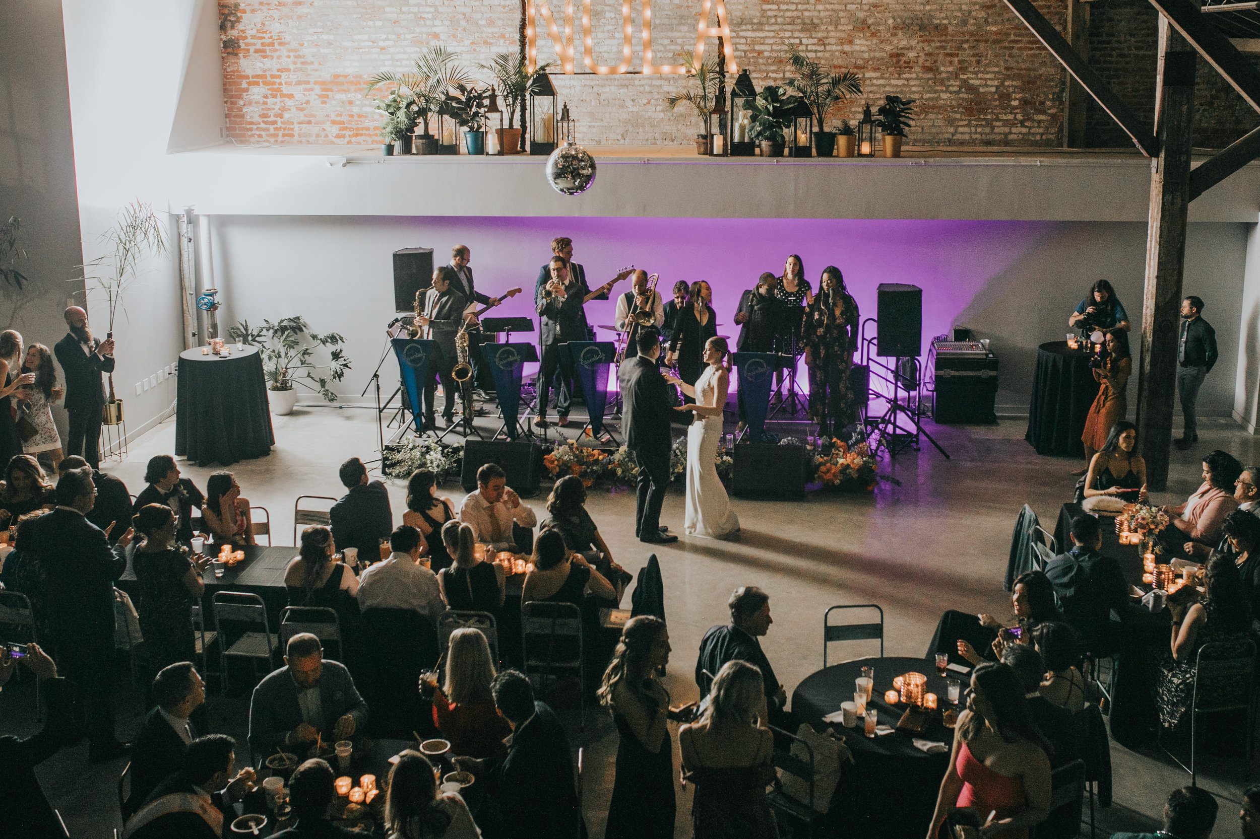 Capulet Bywater New Orleans Catering Wedding Party