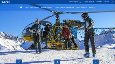 Zuba Ski Website