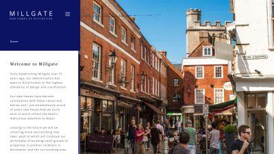 Millgate Winchester Website