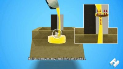 Waypoint Aluminium Casting Pouring Animation