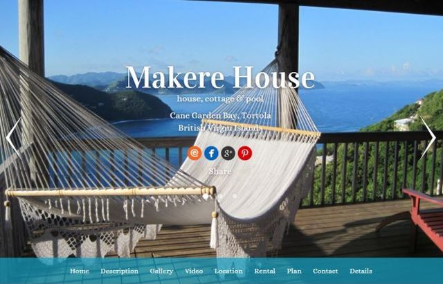 Makere House and Cottage Homepage